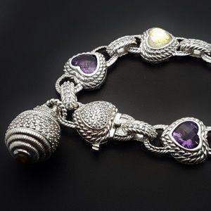 Judith Ripka Jewelry - Ripka Sterling Amethyst bracelet